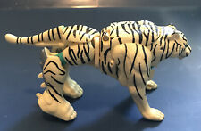 Transformers Beast Wars Tigatron Deluxe NEAR COMPLETE White Tiger NICE 1995