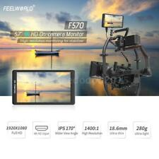 "Feelworld F570 5.7"" 4K Ultra HD 1080P IPS LED HDMI Camera Field Video Monitor"