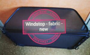 Wind Deflector Cabriolet - Fabric Cover Mesh Repair Windstop Cloth Textile NEW