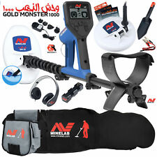 Minelab Gold Monster 1000 with Carry Bag, Finds Pouch, 2 Search Coils, and More