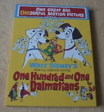 DISNEY'S 101 DALMATIONS FILM POSTER CANVAS PRINT