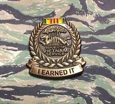 Vietnam Service Medal Lapel Pin.Army Marines Navy Air Force Coast Guard