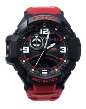 Casio G-Shock Mens Wrist Watch Twin Sensor GA1000-4B GA-1000-4B Black-Red