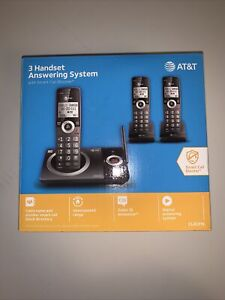 New Unopened AT&T CL82319 (3) Handset Cordless Telephone with Smart Call Block 3