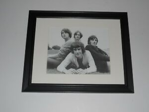 "Framed The Kinks Ray Davies / Dave Davies Promo 1966 Shot 14"" by 17"""