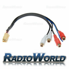 Blaupunkt RCA Pre Out Adaptor Lead Cable 7 607 893 093