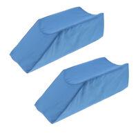 2x Foam Leg Elevator Cushion Orthopedic Surgery Support Elevation Pillow