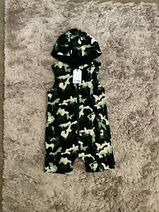 NEXT BRAND NEW BOYS 2-3 YEARS ROMPER WITH HOOD, OUTFIT COMBINE POST
