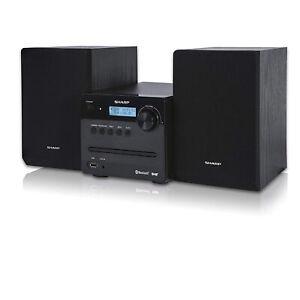 Sharp Micro Sound System with DAB+ Digital, FM Radio, Bluetooth & CD Playback