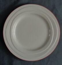 JAMIE OLIVER WAVES ROOD RANDJE ontbijtbord 21,5cm bord RED RIM plate Assiette