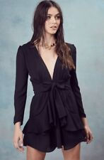 For Love and Lemons Vivi Party Dress Noir Size Small S