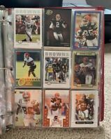 Lot Of 156 Cleveland Browns Football Cards Rookies, All-Pros, HOFers, & More