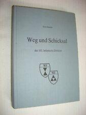 Weg und Schicksal der 183. Infanterie-Division - Schnabel Wehrmacht - RARITÄT
