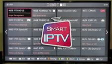 Abonnement IPTV 12 mois 6000+ chaines TV et VOD Full HD/HD/SD