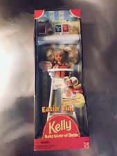 🔥BRAND NEW EATIN' FUN KELLY Baby Sister of Barbie w/ Accessories #18582