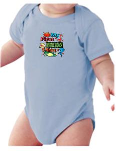 Infant creeper bodysuit One Piece t-shirt My First Myrtle Beach T-shirt k-495