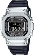 ✫ CASIO G-SHOCK GMW-B5000-1 Silver Solar Bluetooth