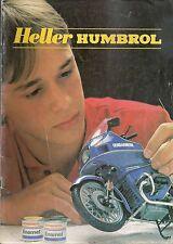 Catalogue vintage Heller 1985