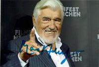 Mario Adorf - original signiertes Foto u.a. Der große Bellheim * Winnetou