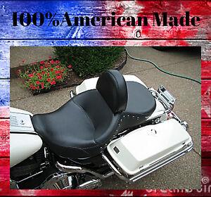 Harley Davidson Drivers Backrest  AMERICAN MADE Street Glide  Quick Release