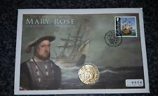 KING HENRY VIII MARY ROSE TREASURY SOUVENIR COMMEMORATIVE  COIN COVER 30/1/09