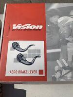 NEW FSA VISION AERO TIME TRIAL TT TRIATHLON BAR END BRAKE LEVER SET - BLACK