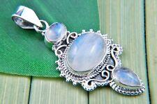 Pendente argento 925 con pietra di luna