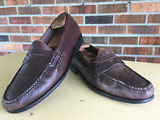 Cole Haan Pinch Grand Penny Loafers Pebble Brown Mens Size 10  C13487     D20(5)