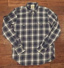 Lucky Brand Long Sleeve Western Snap Shirt Men's Size S
