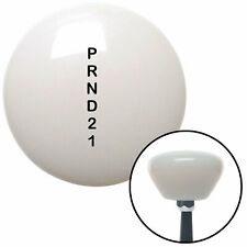 Black Shift Pattern 30n White Retro Shift Knob fits Automatic Shifter 3 Speed to
