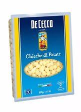 10x Pasta De Cecco 100 italienisch Gnocchi Di PATATE Nudeln 500g