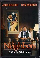 Neighbors (DVD) A Comic-Nightmare John Belushi, Dan Aykroyd   BRAND NEW