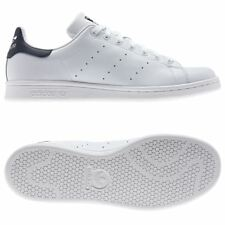 adidas Originals Stan Smith White Navy Trainers Sizes 7 - 12 SNEAKERS Shoes 12