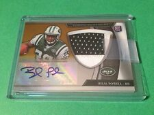 Bilal Powell 2011 Topps Platinum Football Rookie 2-CLR Patch Jersey Auto /10