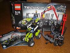 Lego Technic Traktor mit Forstkran 8049