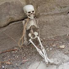 Plastic Skeleton Decoration Small Size Halloween Children Kids Prop Hunted Decor