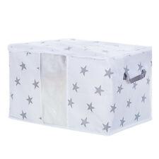 Foldable Storage Bag Clothes Blanket Quilt Closet Sweater Organizer Box Pouche D