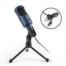 MAD GIGA Microphone USB, Microphone à Condensateur avec Trépied