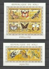 MALI, 1994 Insekten 1291-99A Kleinbogen **, (28207)