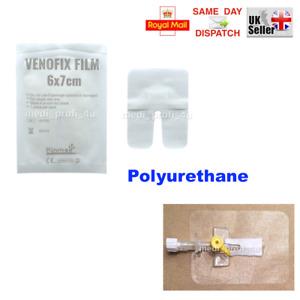 FIXATION DRESSING CANNULA VENFLON 6x7cm POLYURETHANE STERILE ADHESIVE PLASTER