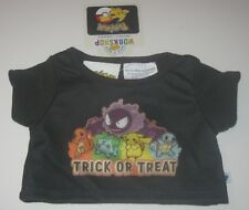 Build a Bear Pokemon Halloween Trick or Treat T-shirt