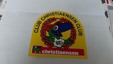 autocollant sticker rare CLUB CHRISTIAENSEN  tres rare ancien magasin de jouet