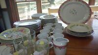 Grandma's Kitchen Dinnerware Set by PFALTZGRAFF 58 pieces Tumblers Hostess pcs