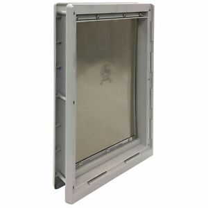 "Ideal Pet Products Designer Series Pet Door Extra Large Grey 2.12"" x 12.43"" x 18"