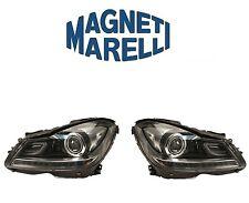Mercedes W202 C250 C350 08-14 Right + Left Headlight Assy OEM Magneti Marelli