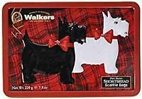 Walkers Scotty Dog Shortbread Tin 220 g, 1er Pack (1 x 220 g)