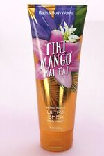 New 1 Tiki Mango Mai Tai Bath & Body Works Ultra Shea Hand Body Cream 8 Oz Tube