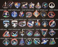 SPACEX 40 Mission SPACE PATCH SET F-9 FALCON-9 DRAGON ORIGINAL NASA ISS CRS-1~10