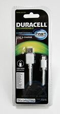 "Duracell ""FAST Charging"" MFI Lightning Sync & Charge USB Cable for Apple iPhone"