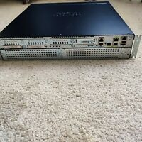 Cisco 2921 3-Port Gigabit Wired Router (CISCO2921/K9)  with POE AC/Power Supply.